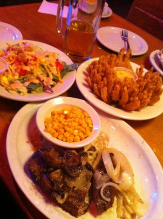 Texas Roadhouse: Our Meal