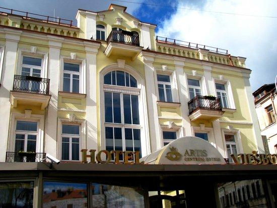 Artis Centrum Hotels : Центральный вход в отель