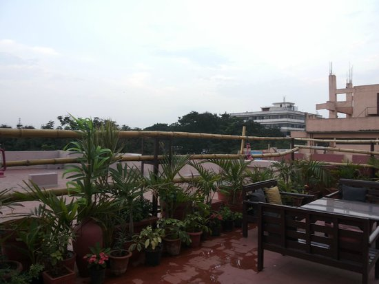 Hotel Bangalore Gate : terrace view