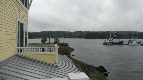 View from Resort at Port Ludlow room