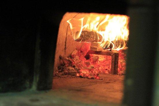 Pizzeria Rossini: Il forno