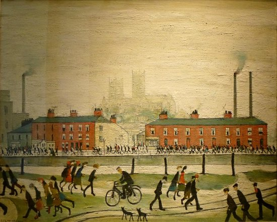 The Collection / Usher Gallery : Lincoln by Lowry at Usher Gallery