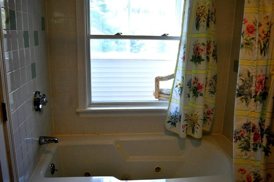 Inn by the River: Whirlpool Tub/Shower