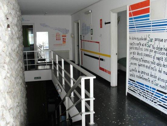 Sur Hostel: Corredor