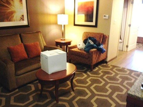 Hilton Garden Inn Kennett Square: Junior King Suite Sitting area