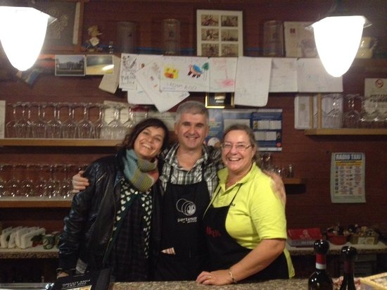 Osteria Penzo: Mario his wife and me