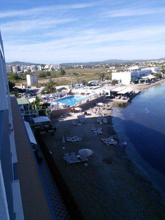 Hotel Argos : beach area