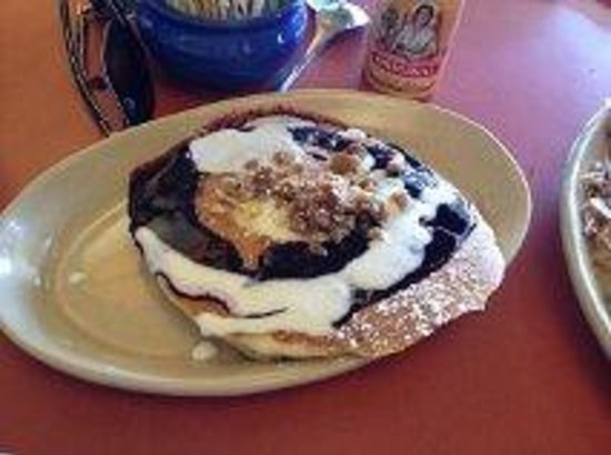 Snooze an A.M. Eatery: Blueberry Danish Pancakes