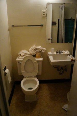 Wonderland Motel: Bathroom