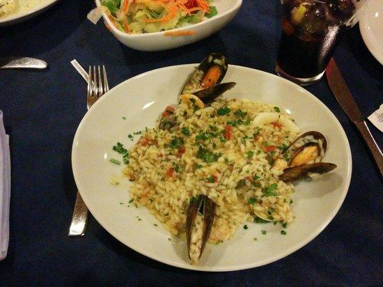 Il Gabbiano: Risoto de frutos do mar