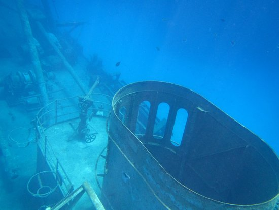 Kittiwake Shipwreck & Artificial Reef: central portion of the wreck
