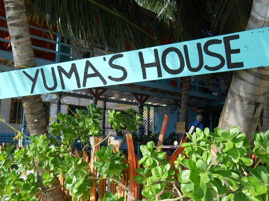 Yuma's House Belize: The property is named after Susanne's son, Yuma.