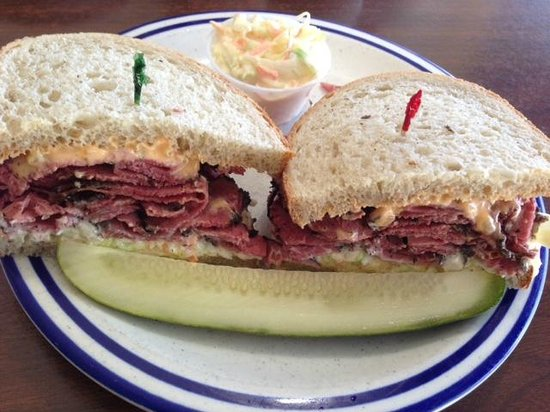 Who's on Third Deli and Grill: Shore SPecial with Pastrami
