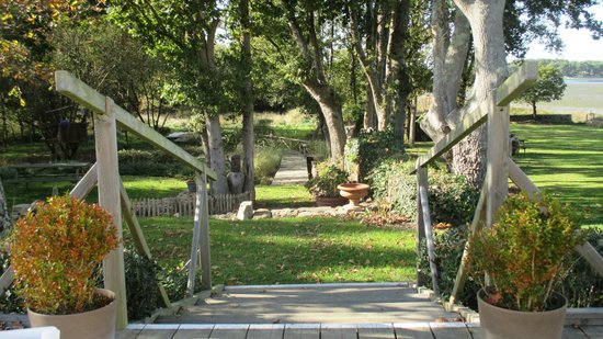 La Petite Presqu'ile : Le beau jardin en automne