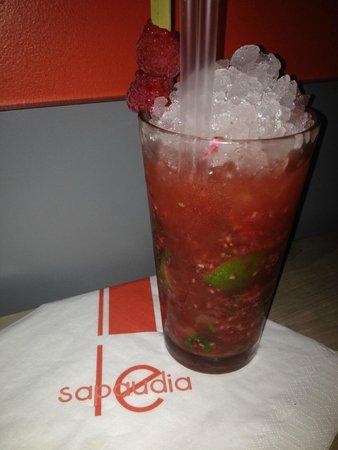 Le Sapaudia : Le Raspberry Mojito : 11.00 Euros