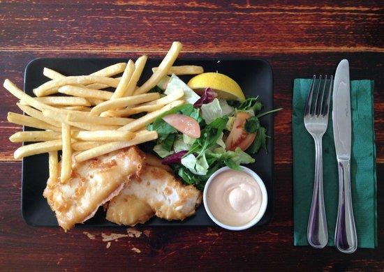Taergesen: Tasty fish & chips