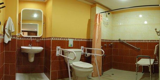 Hotel Casa D'mer Taganga : Baño Movilidad reducida