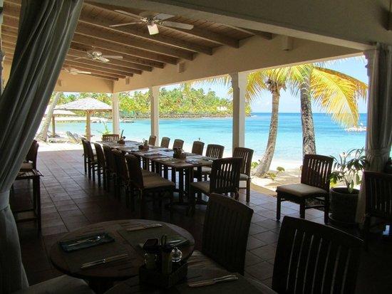 Curtain Bluff Resort: Lunch And Dinner Beach Restaurant