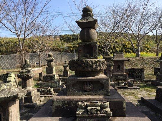 花岡島津氏歴代墓地