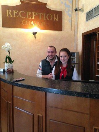 Arkada Hotel Praha: Lenka и Я