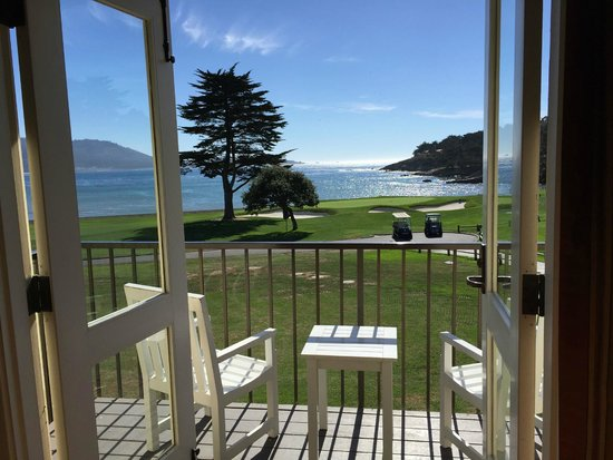 The Lodge At Pebble Beach View From Room 146 Ocean