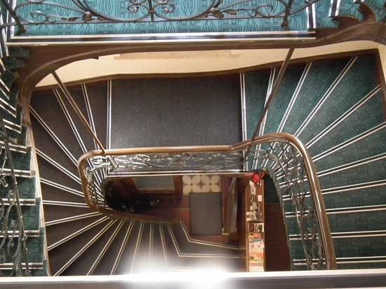 Hotel-Pension Golz: The beautiful staircase