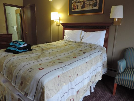 29 West Motel: bed