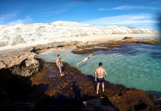 Greenly Beach Rock Pools Picture Of Port Lincoln Yha