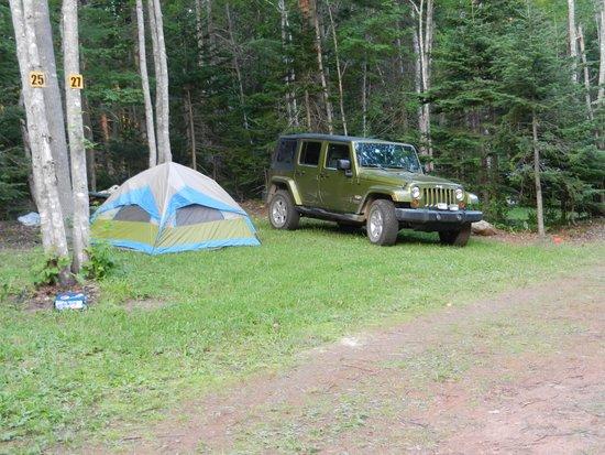 Red Rock Retreat: Tent sites