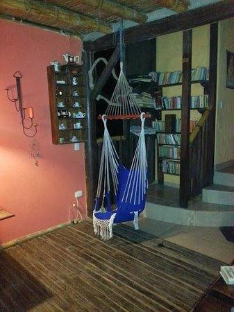 La Facha Hostal Restaurant : Sala de estar