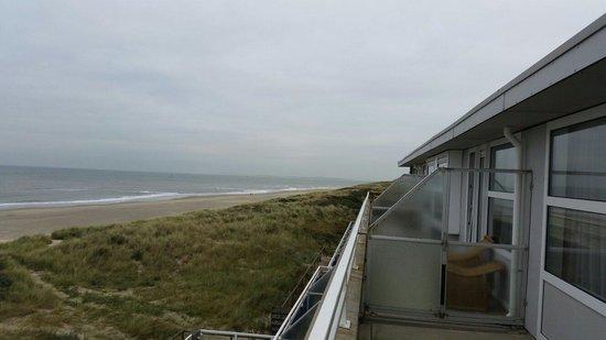 Westcord Strandhotel Seeduyn: Balkon