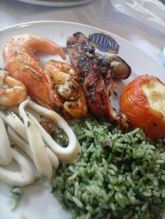 Bar Veloso: frigideira de frutos do mar