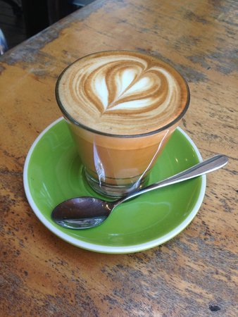 Chill Cafe: Another great latte from barista Dave