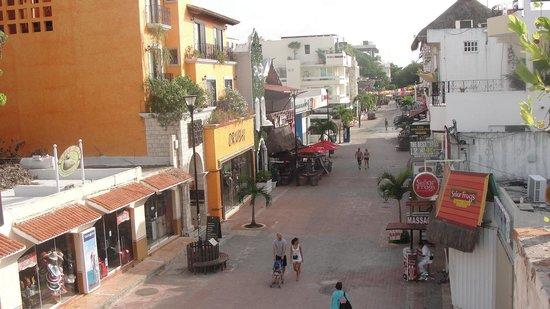 Hotel Pension San Juan: Vue de la terrasse