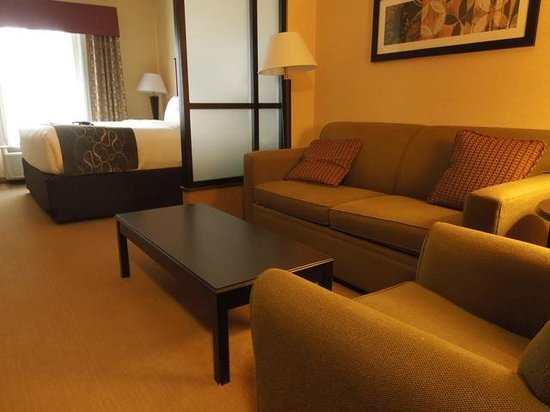 Comfort Suites Helena Airport: Love all the space!