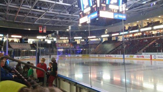 South Okanagan Events Centre : Ice rink for hockey