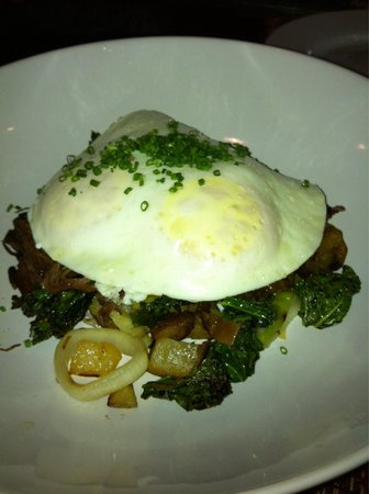 The Biltmore: Reposting corned beef hash with egg and kale brunch dish. Really good!!