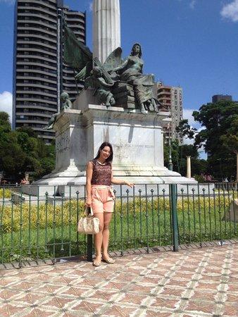 Praca da Republica: Praça linda!