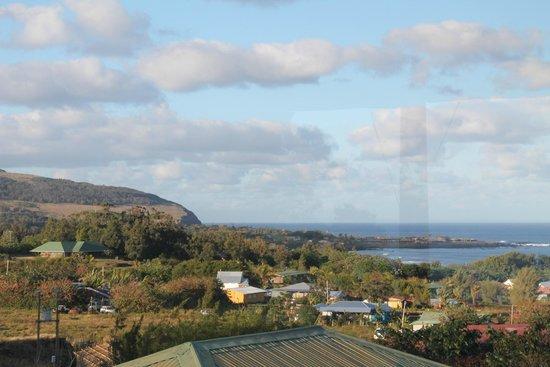 Cabanas Mana Ora : Vista desde la terraza