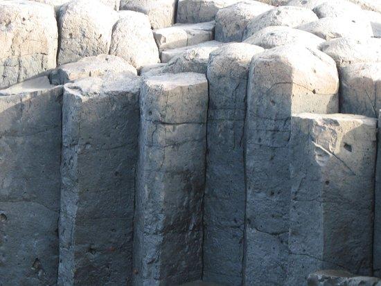Chatham Island (Rekohu), نيوزيلندا: Basalt Columns - Chatham Islands