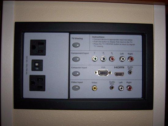 Hyatt Place Louisville-East: Big Screen TV Inputs