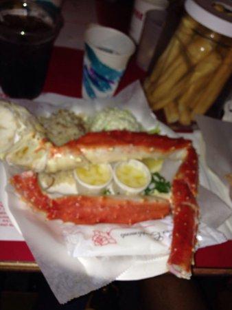 Crab Cooker: Crab legs..... Yummmm!