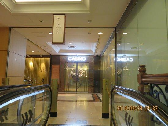 Seven Luck Casino Busan Lotte Branch: 入口