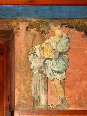 """""""A Family"""" by Frank Brangwyn, Casa Cuseni, Taormina, Sicily"""