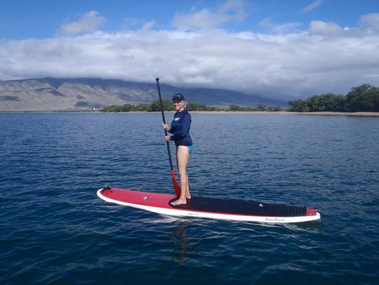 Maria Souza's Stand Up Paddle School: If I can do it, anyone can!