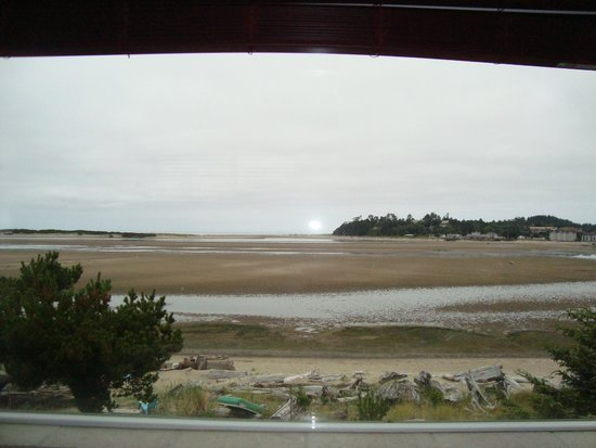 Baywood Shores Bed & Breakfast: low tide view from the room
