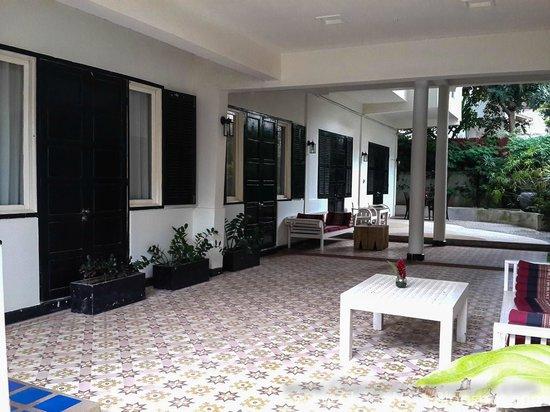 "Mandala Boutique Hotel : Our ""balcony"""