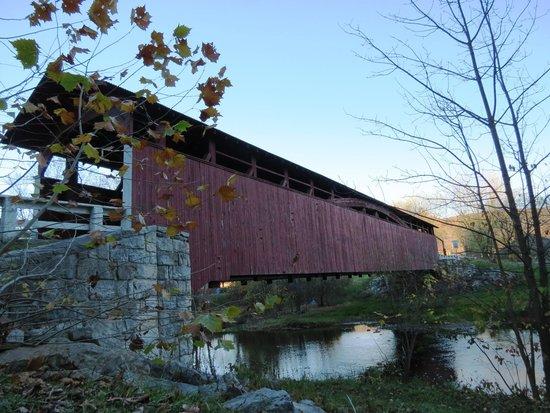 Covered Bridge loop: Claycomb Covered Bridge
