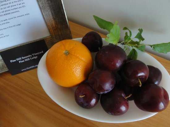 Pine Hill Lodge: Home Grown Plums