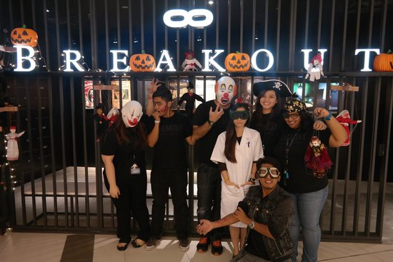 Halloween - Picture of Breakout Real Escape Game, Kuala Lumpur ...